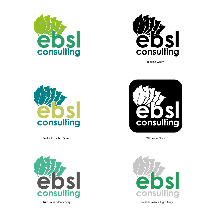 Logo Design by Kalinoe - Entry No. 119 in the Logo Design Contest EBSL Consulting Logo Design.