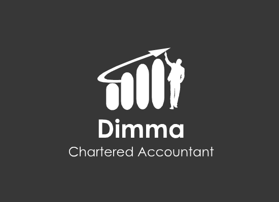 Logo Design by Ismail Adhi Wibowo - Entry No. 21 in the Logo Design Contest Creative Logo Design for Dimma Chartered Accountant.