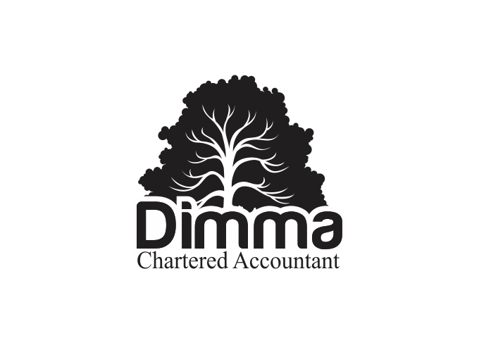 Logo Design by Rizwan Saeed - Entry No. 22 in the Logo Design Contest Creative Logo Design for Dimma Chartered Accountant.