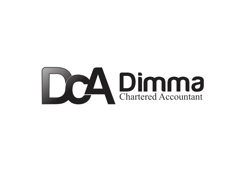 Logo Design by Rizwan Saeed - Entry No. 23 in the Logo Design Contest Creative Logo Design for Dimma Chartered Accountant.