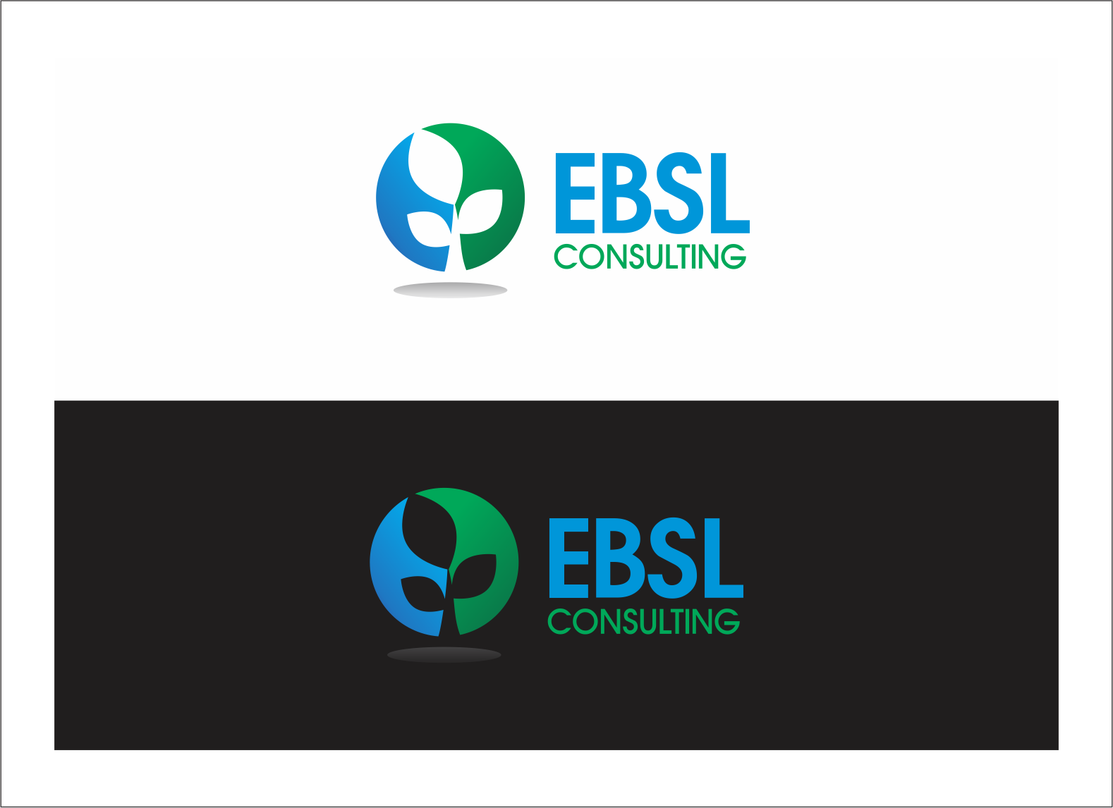 Logo Design by fathdesigner - Entry No. 121 in the Logo Design Contest EBSL Consulting Logo Design.