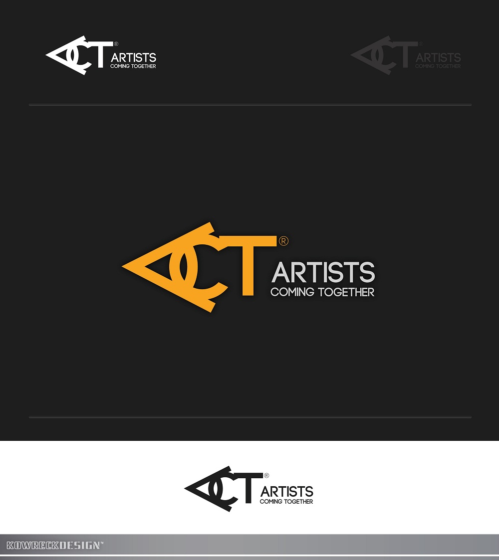 Logo Design by kowreck - Entry No. 52 in the Logo Design Contest Creative Logo Design for A.C.T. Artists Coming Together.