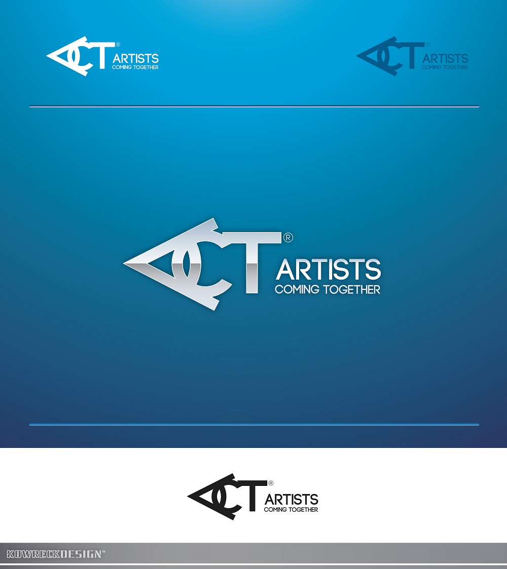 Logo Design by kowreck - Entry No. 53 in the Logo Design Contest Creative Logo Design for A.C.T. Artists Coming Together.