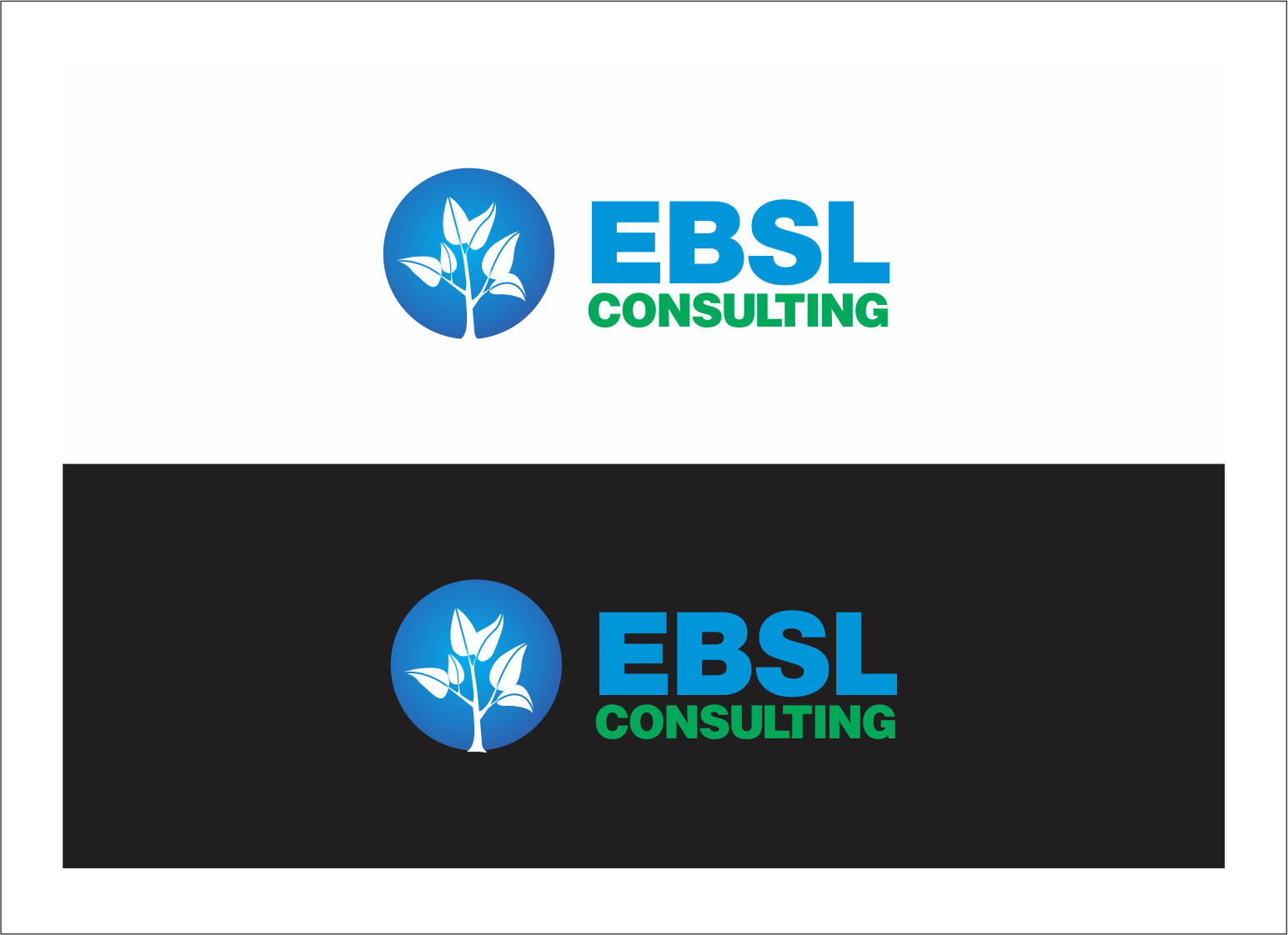 Logo Design by fathdesigner - Entry No. 124 in the Logo Design Contest EBSL Consulting Logo Design.