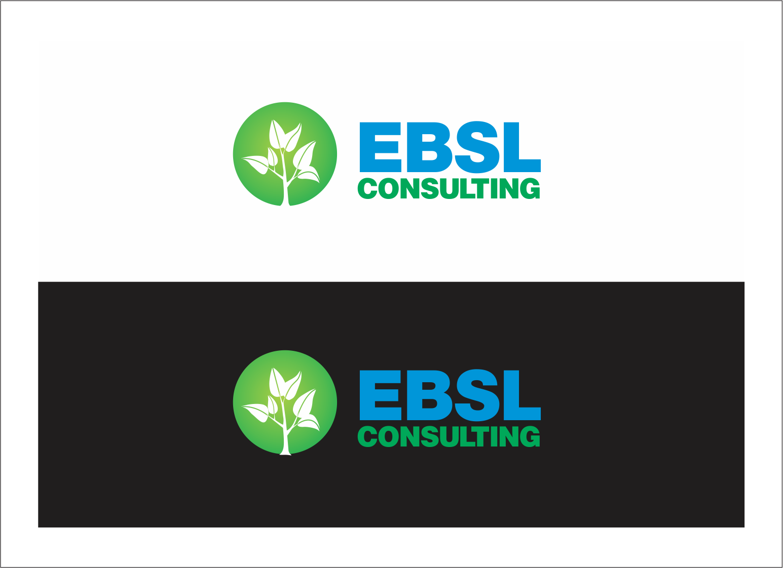 Logo Design by fathdesigner - Entry No. 125 in the Logo Design Contest EBSL Consulting Logo Design.