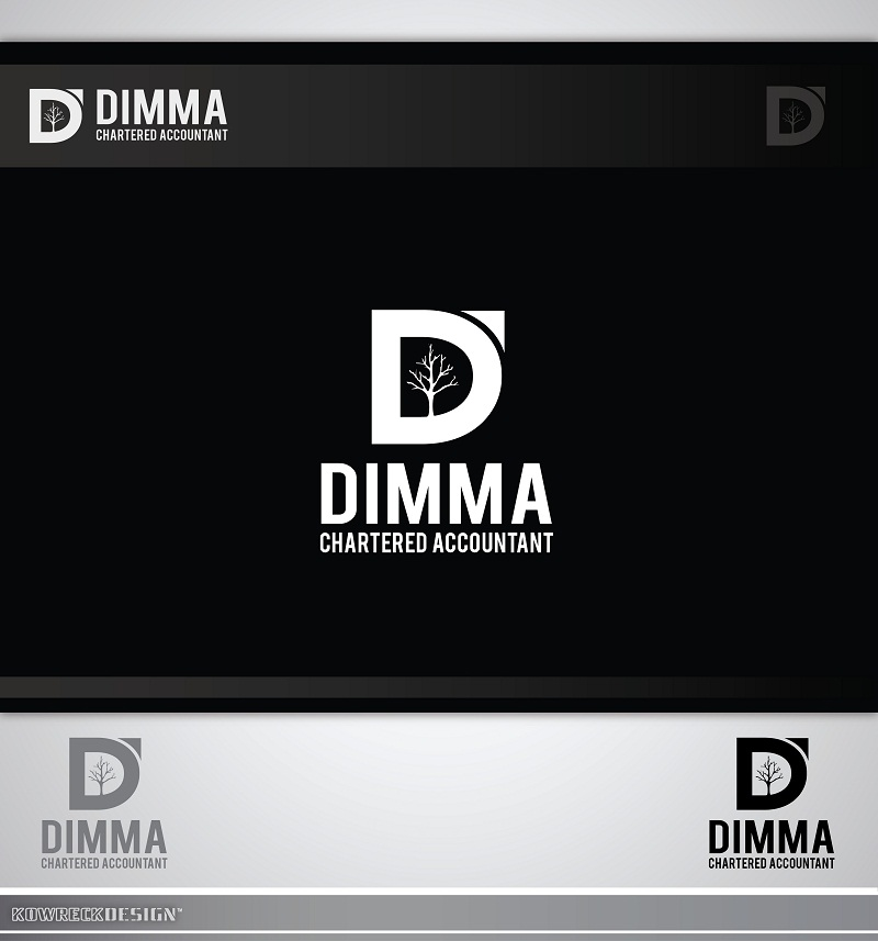 Logo Design by kowreck - Entry No. 24 in the Logo Design Contest Creative Logo Design for Dimma Chartered Accountant.