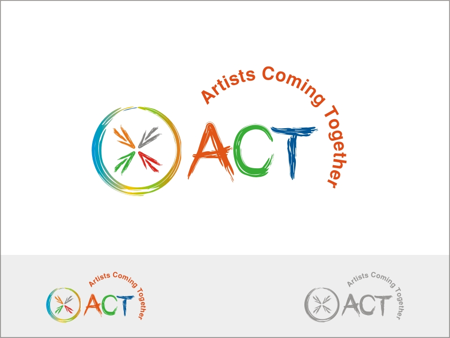 Logo Design by RED HORSE design studio - Entry No. 57 in the Logo Design Contest Creative Logo Design for A.C.T. Artists Coming Together.