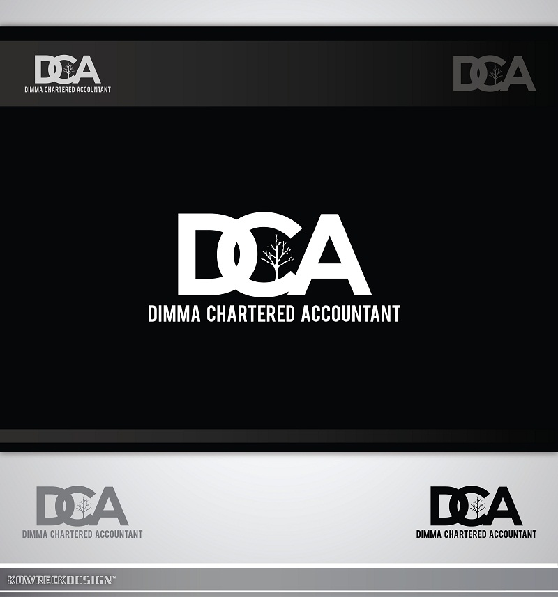 Logo Design by kowreck - Entry No. 25 in the Logo Design Contest Creative Logo Design for Dimma Chartered Accountant.