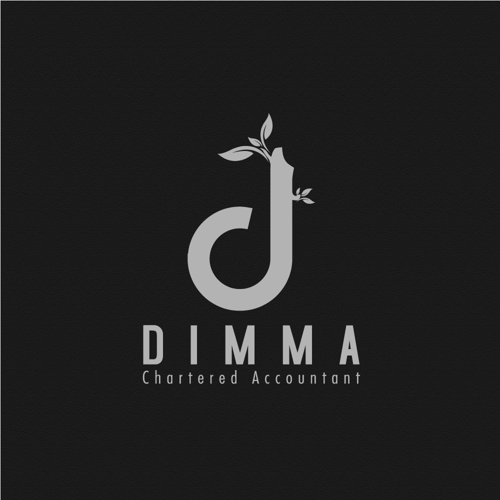 Logo Design by rockin - Entry No. 26 in the Logo Design Contest Creative Logo Design for Dimma Chartered Accountant.