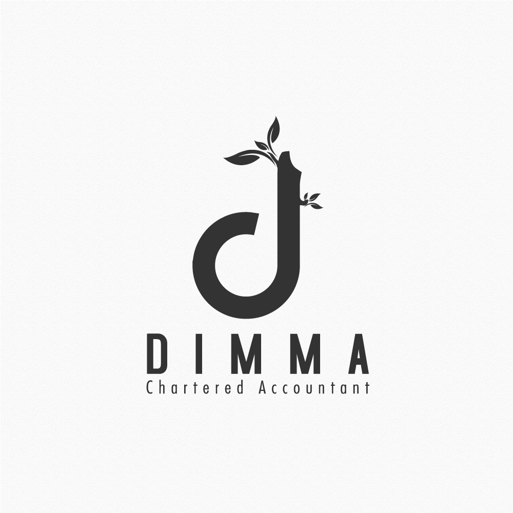 Logo Design by rockin - Entry No. 27 in the Logo Design Contest Creative Logo Design for Dimma Chartered Accountant.