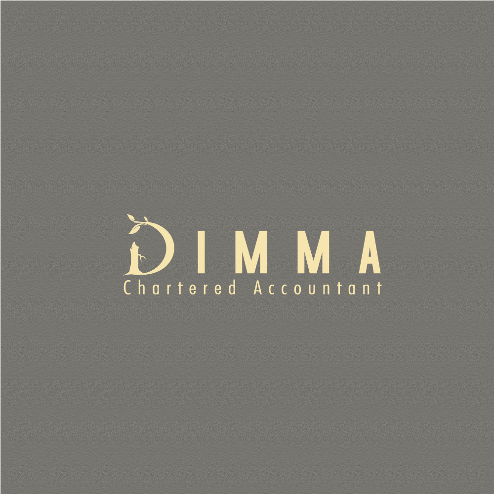 Logo Design by rockin - Entry No. 28 in the Logo Design Contest Creative Logo Design for Dimma Chartered Accountant.