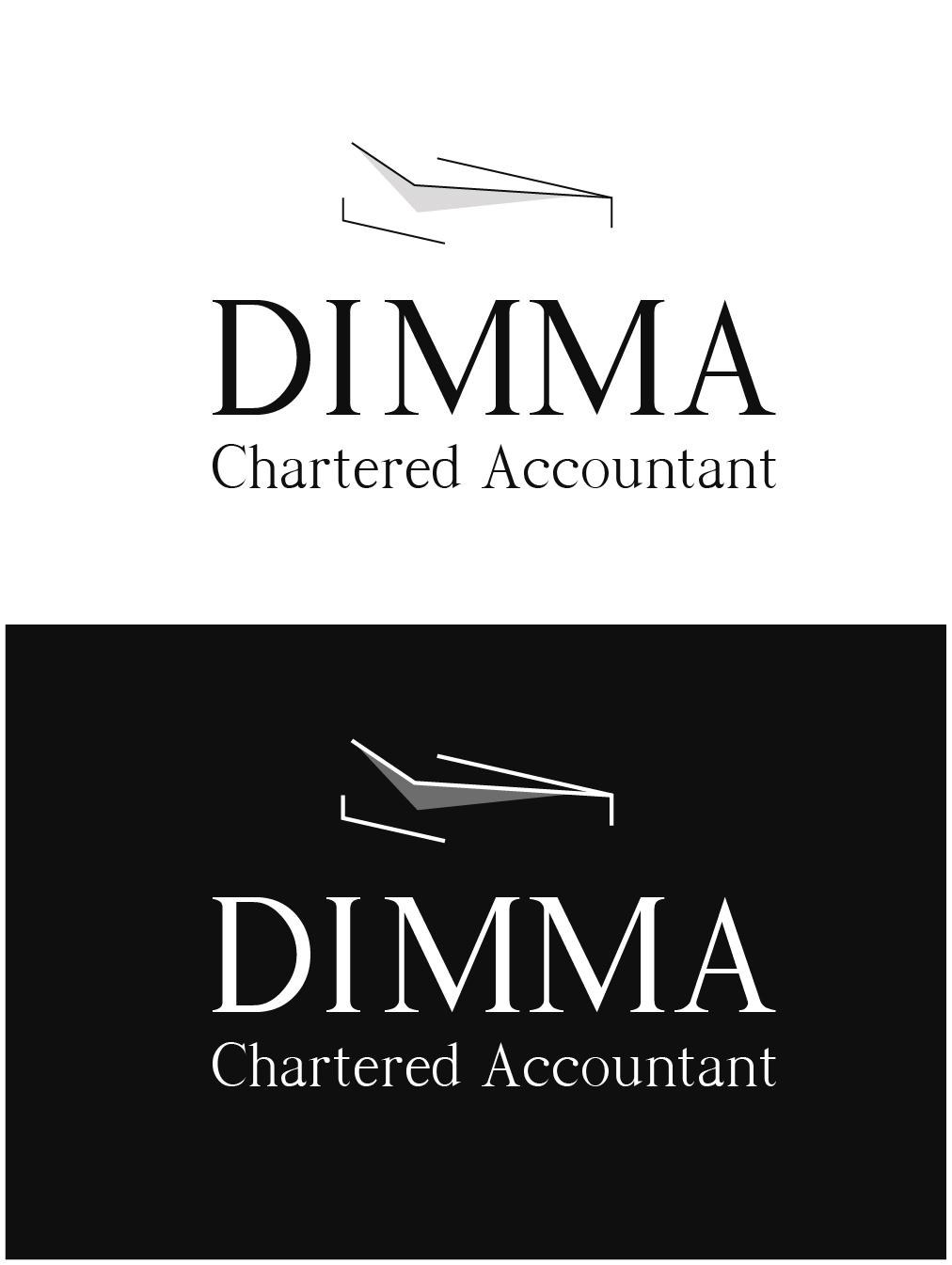 Logo Design by gkonta - Entry No. 31 in the Logo Design Contest Creative Logo Design for Dimma Chartered Accountant.