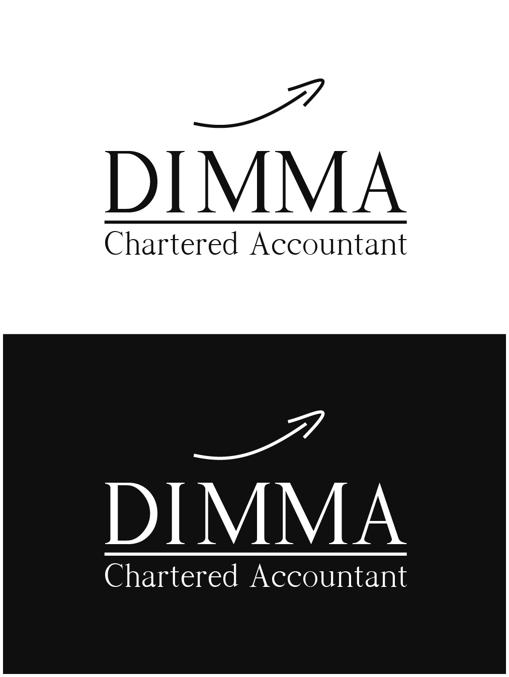 Logo Design by gkonta - Entry No. 34 in the Logo Design Contest Creative Logo Design for Dimma Chartered Accountant.