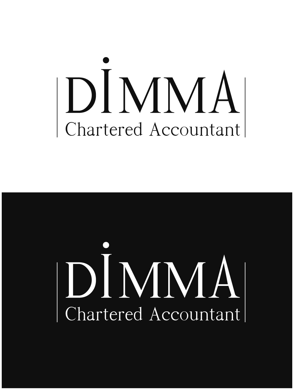 Logo Design by gkonta - Entry No. 35 in the Logo Design Contest Creative Logo Design for Dimma Chartered Accountant.