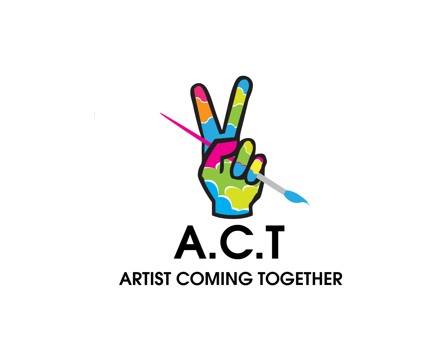 Logo Design by gabbyadingail - Entry No. 62 in the Logo Design Contest Creative Logo Design for A.C.T. Artists Coming Together.