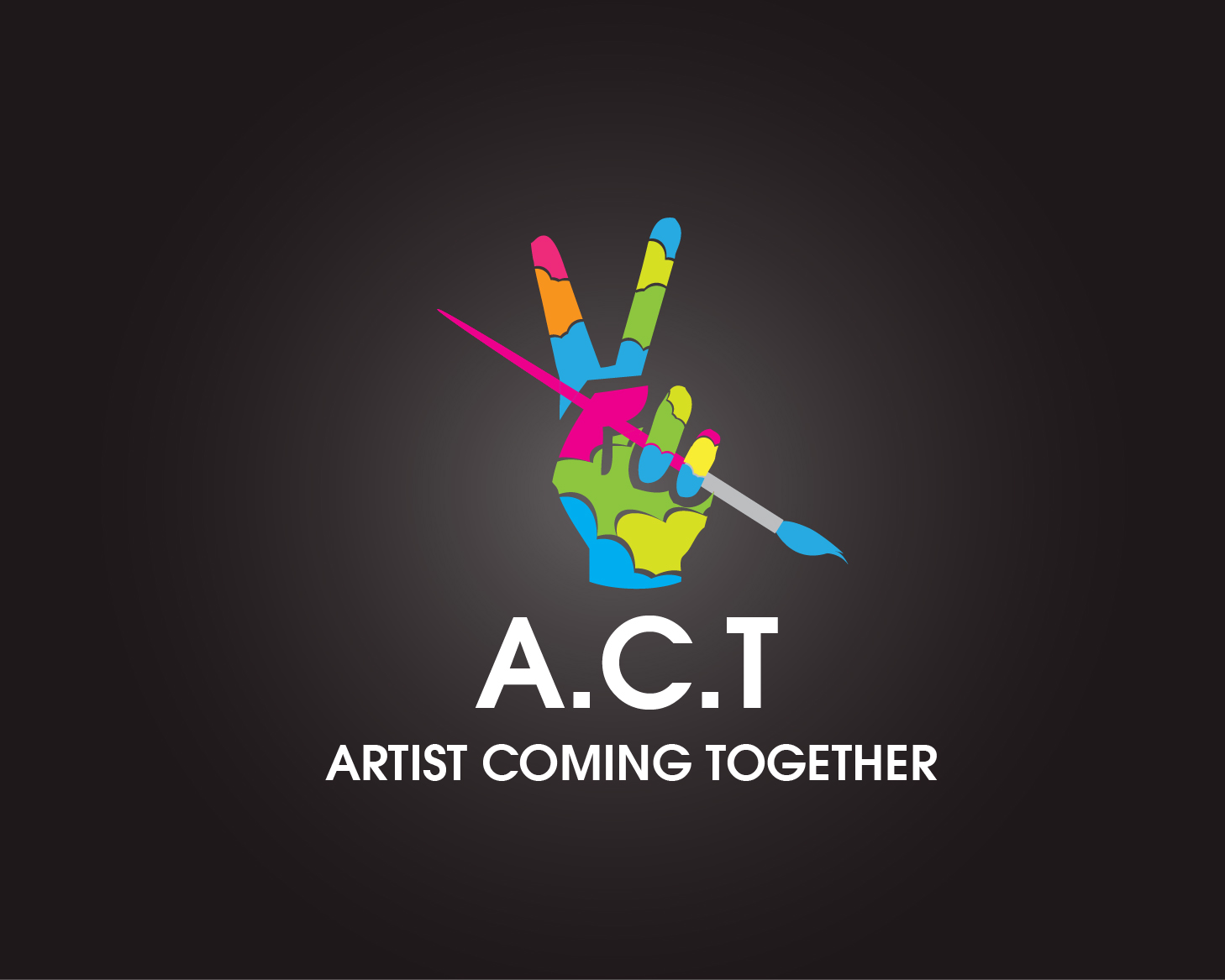 Logo Design by gabbyadingail - Entry No. 63 in the Logo Design Contest Creative Logo Design for A.C.T. Artists Coming Together.