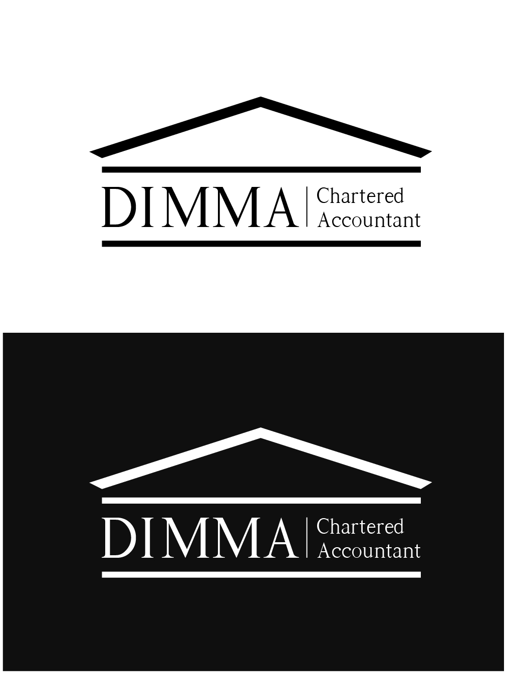 Logo Design by gkonta - Entry No. 39 in the Logo Design Contest Creative Logo Design for Dimma Chartered Accountant.