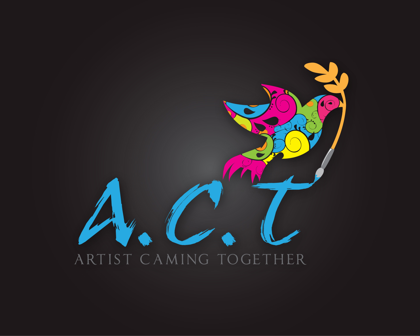 Logo Design by gabbyadingail - Entry No. 69 in the Logo Design Contest Creative Logo Design for A.C.T. Artists Coming Together.