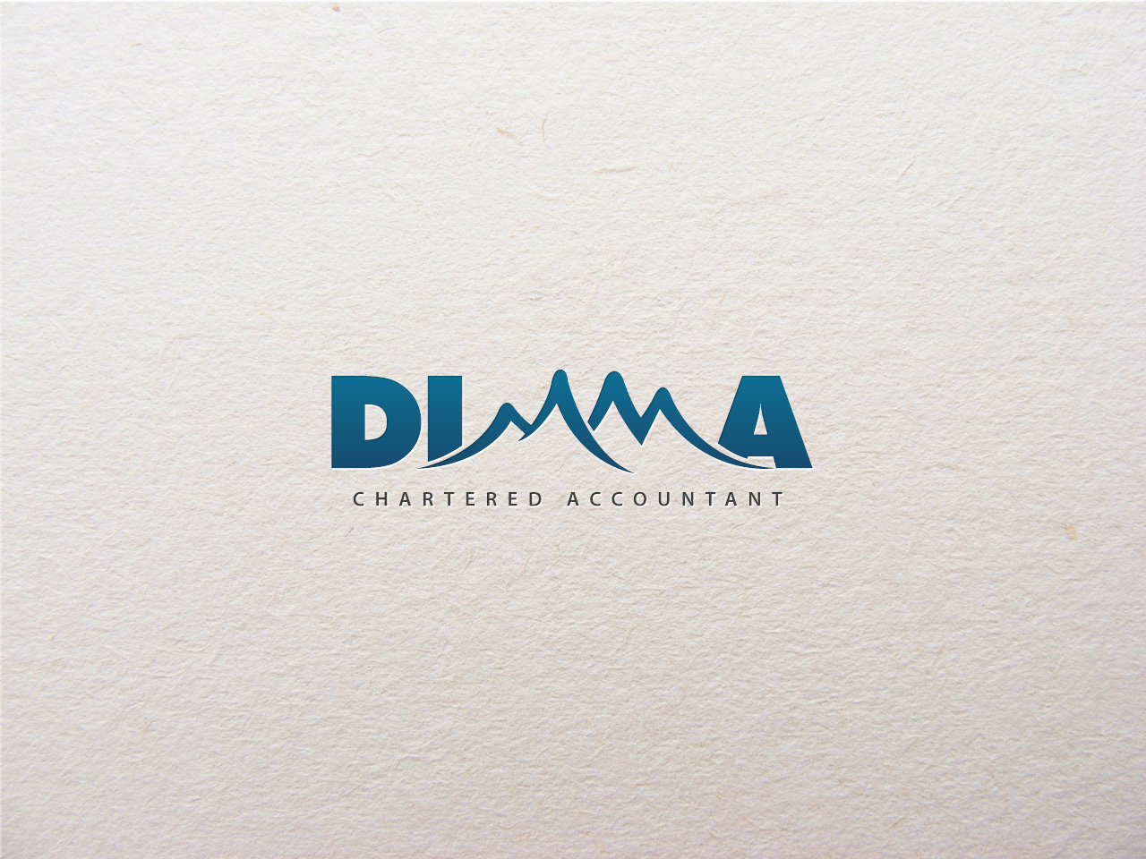 Logo Design by jpbituin - Entry No. 43 in the Logo Design Contest Creative Logo Design for Dimma Chartered Accountant.
