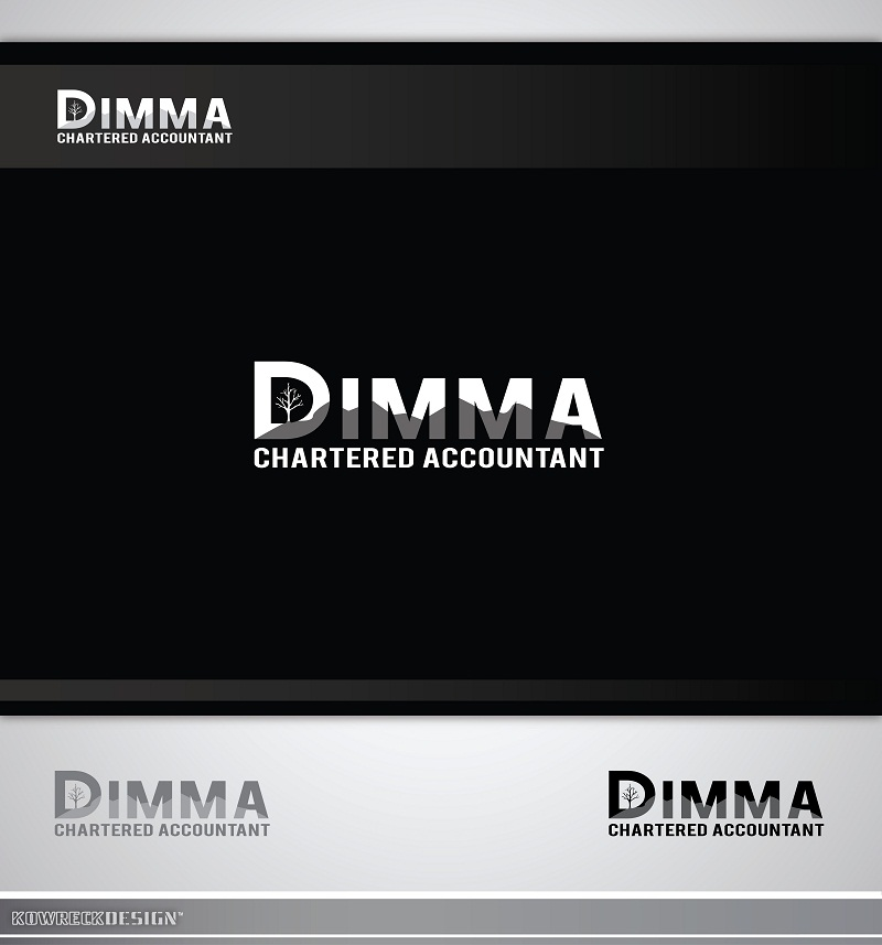 Logo Design by kowreck - Entry No. 45 in the Logo Design Contest Creative Logo Design for Dimma Chartered Accountant.