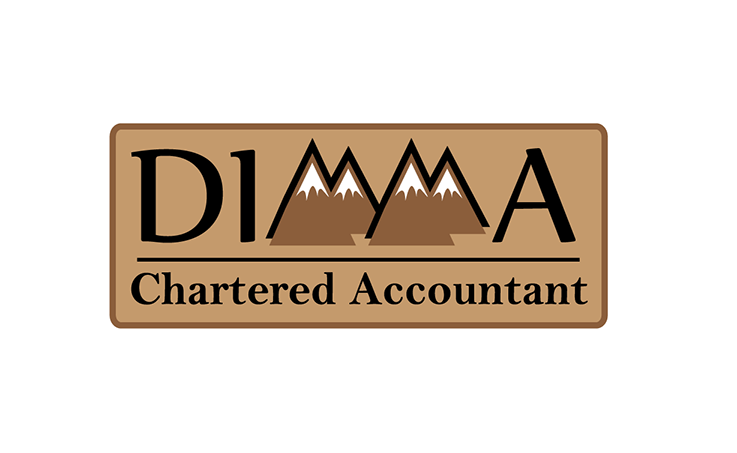 Logo Design by robken0174 - Entry No. 46 in the Logo Design Contest Creative Logo Design for Dimma Chartered Accountant.