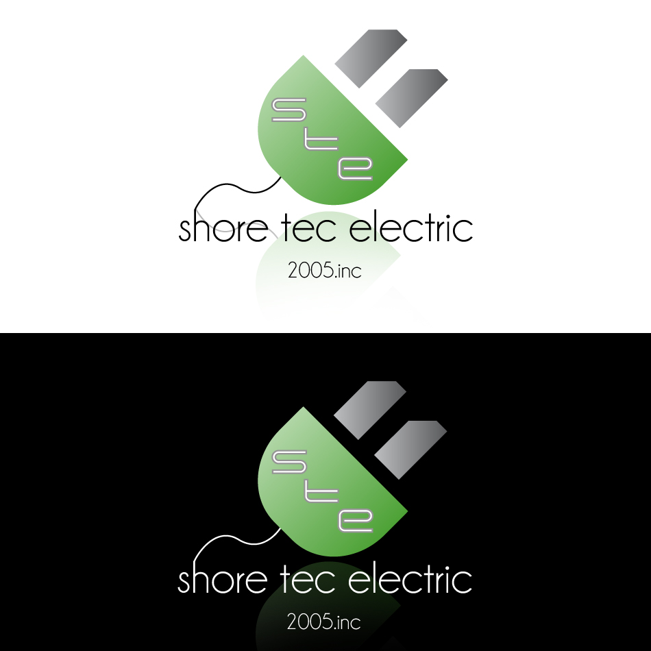 Logo Design by dada45 - Entry No. 41 in the Logo Design Contest Shore Tec Electric 2005 Inc.