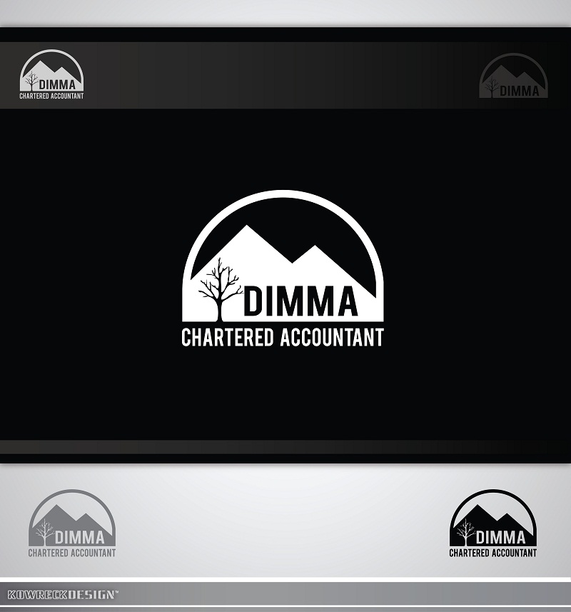 Logo Design by kowreck - Entry No. 49 in the Logo Design Contest Creative Logo Design for Dimma Chartered Accountant.