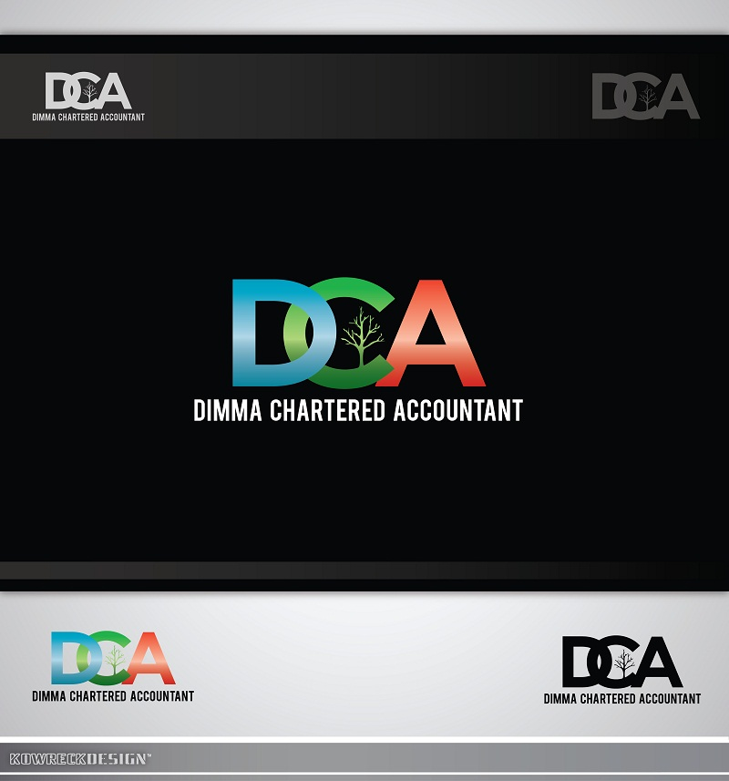 Logo Design by kowreck - Entry No. 50 in the Logo Design Contest Creative Logo Design for Dimma Chartered Accountant.