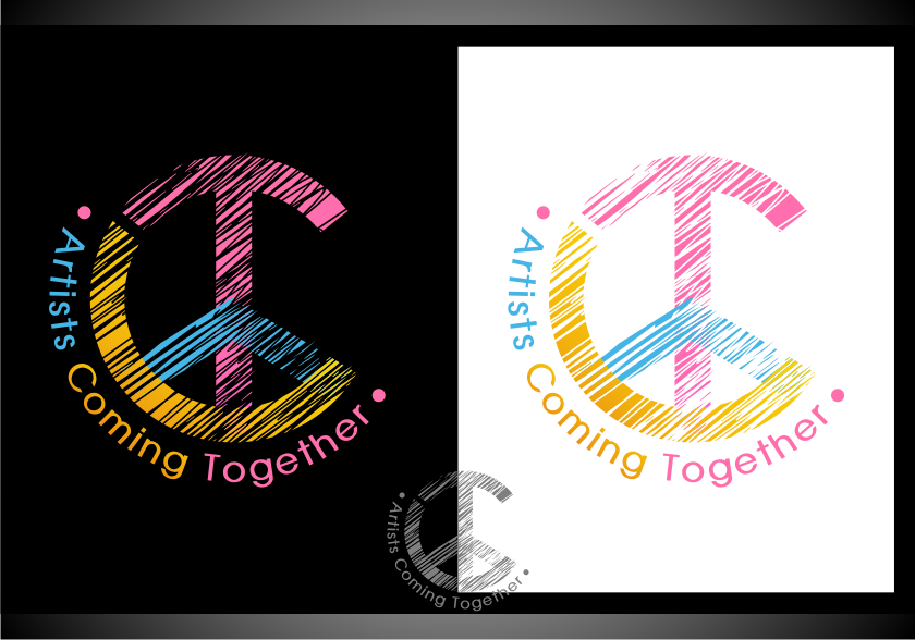 Logo Design by Muhammad Nasrul chasib - Entry No. 73 in the Logo Design Contest Creative Logo Design for A.C.T. Artists Coming Together.