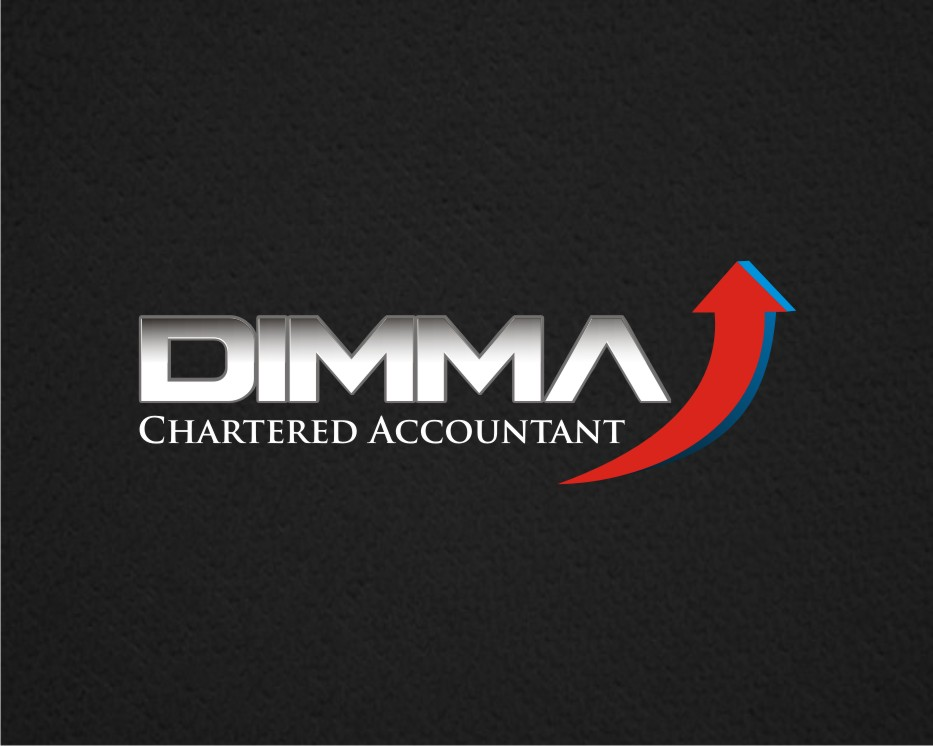 Logo Design by kulay - Entry No. 56 in the Logo Design Contest Creative Logo Design for Dimma Chartered Accountant.