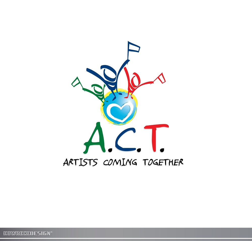 Logo Design by kowreck - Entry No. 75 in the Logo Design Contest Creative Logo Design for A.C.T. Artists Coming Together.