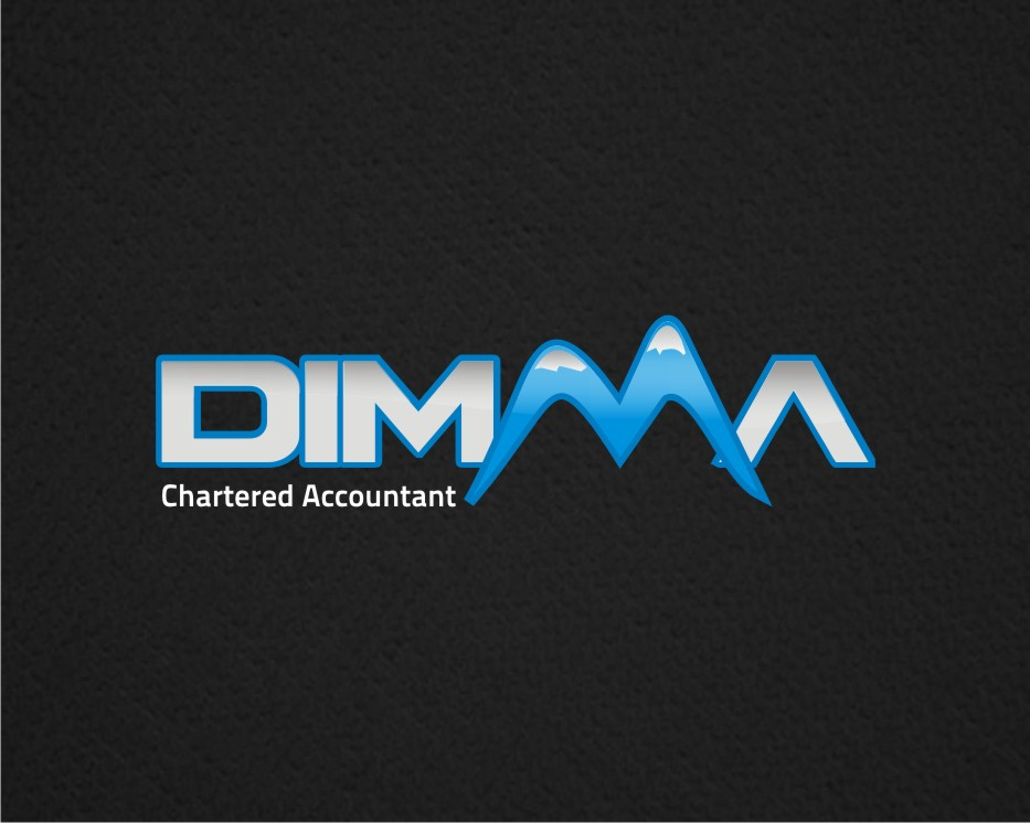 Logo Design by kulay - Entry No. 57 in the Logo Design Contest Creative Logo Design for Dimma Chartered Accountant.
