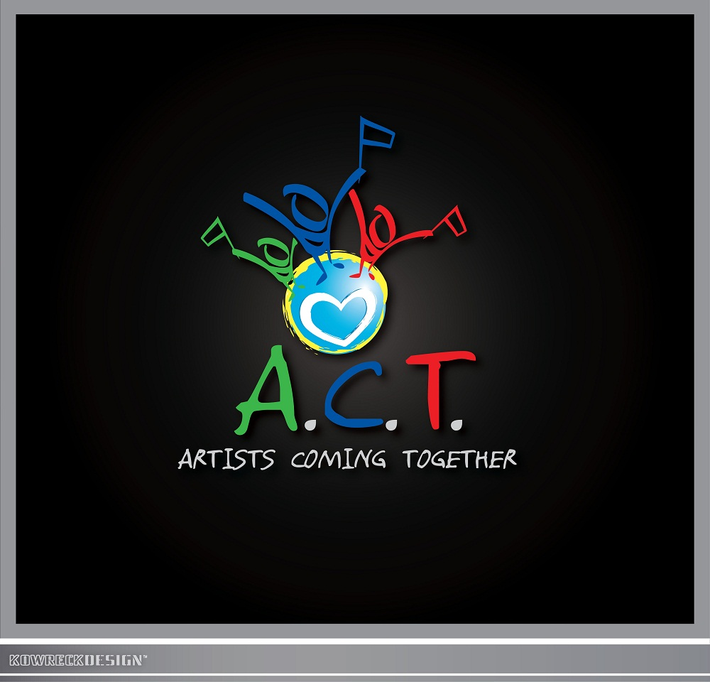 Logo Design by kowreck - Entry No. 76 in the Logo Design Contest Creative Logo Design for A.C.T. Artists Coming Together.