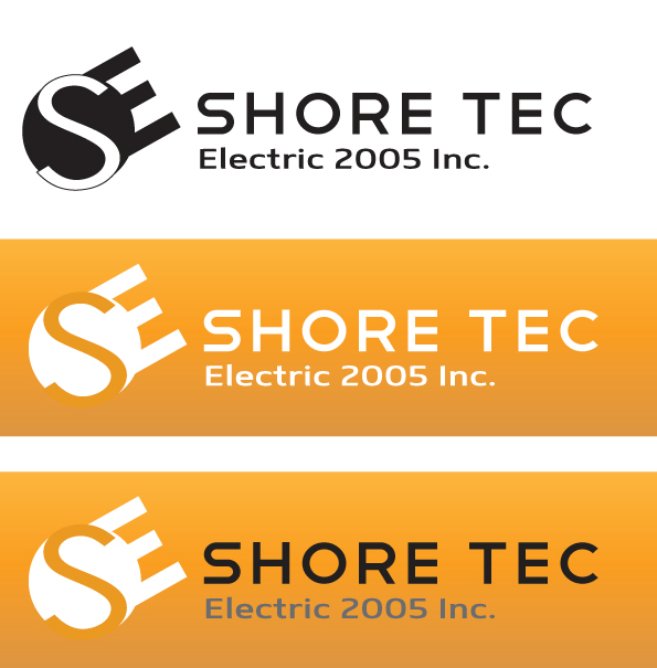 Logo Design by Brian  Lu - Entry No. 43 in the Logo Design Contest Shore Tec Electric 2005 Inc.