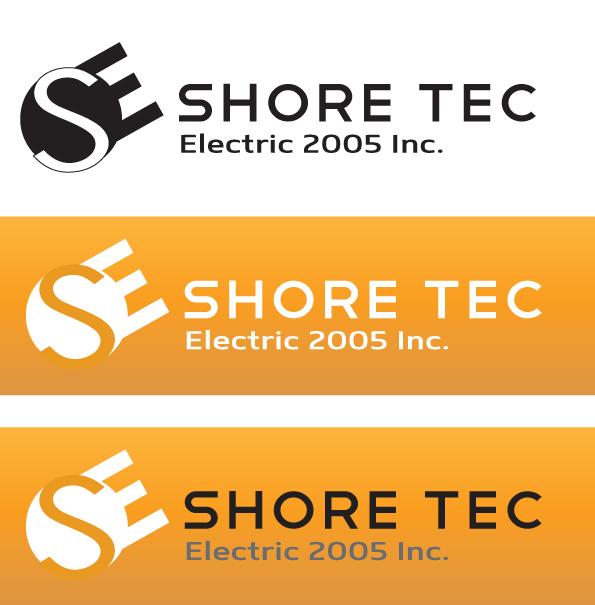 Logo Design by Brian  Lu - Entry No. 43 in the Logo Design Contest Shore Tec Electric 2005 Inc.