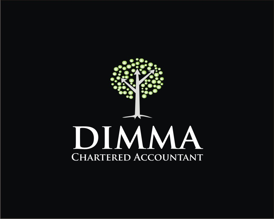Logo Design by kulay - Entry No. 58 in the Logo Design Contest Creative Logo Design for Dimma Chartered Accountant.