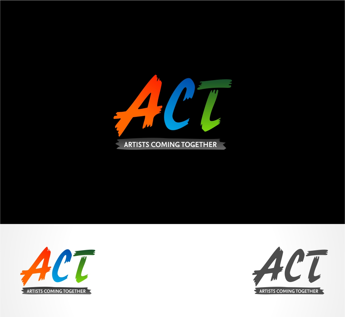 Logo Design by haidu - Entry No. 82 in the Logo Design Contest Creative Logo Design for A.C.T. Artists Coming Together.