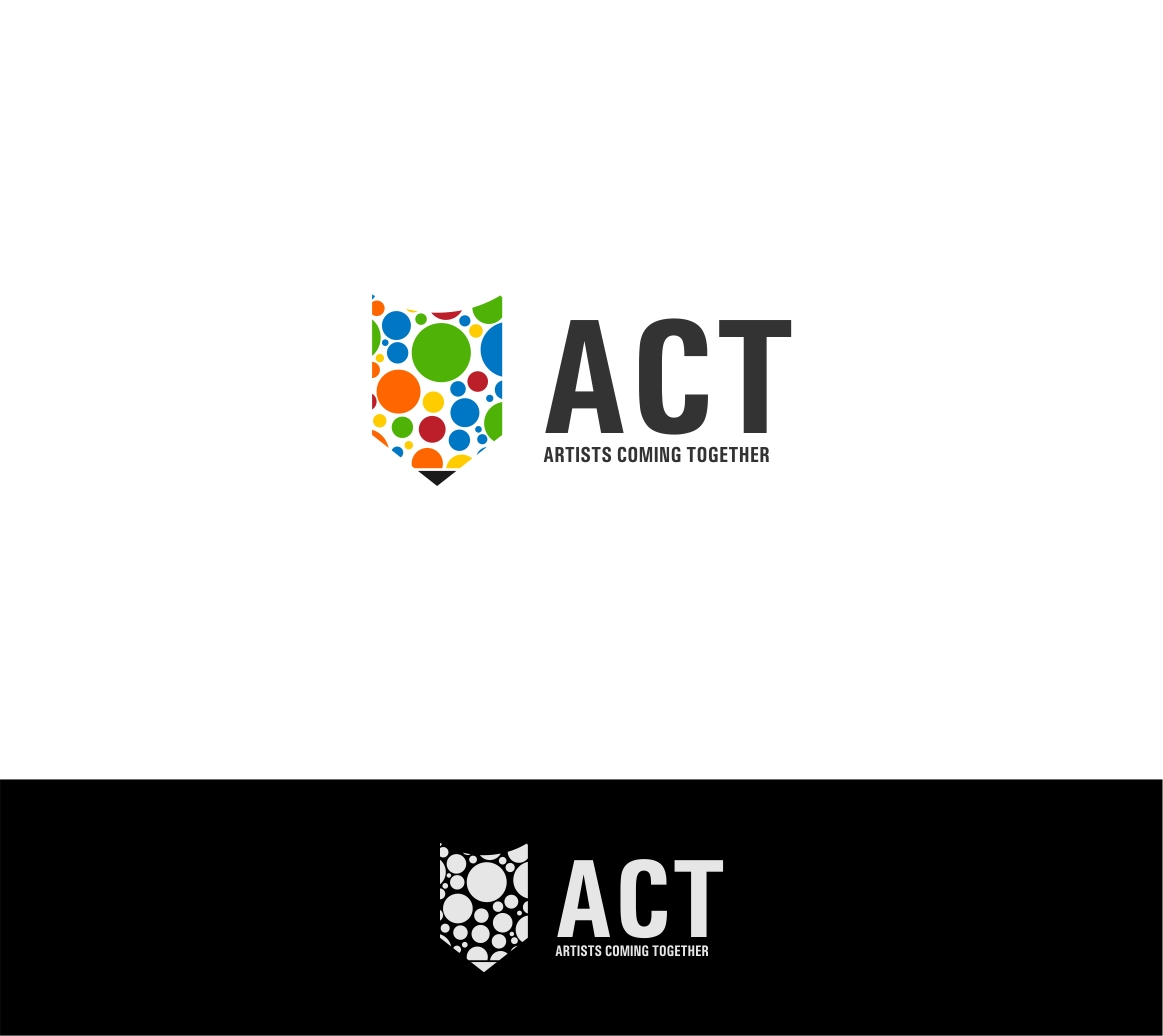 Logo Design by haidu - Entry No. 83 in the Logo Design Contest Creative Logo Design for A.C.T. Artists Coming Together.