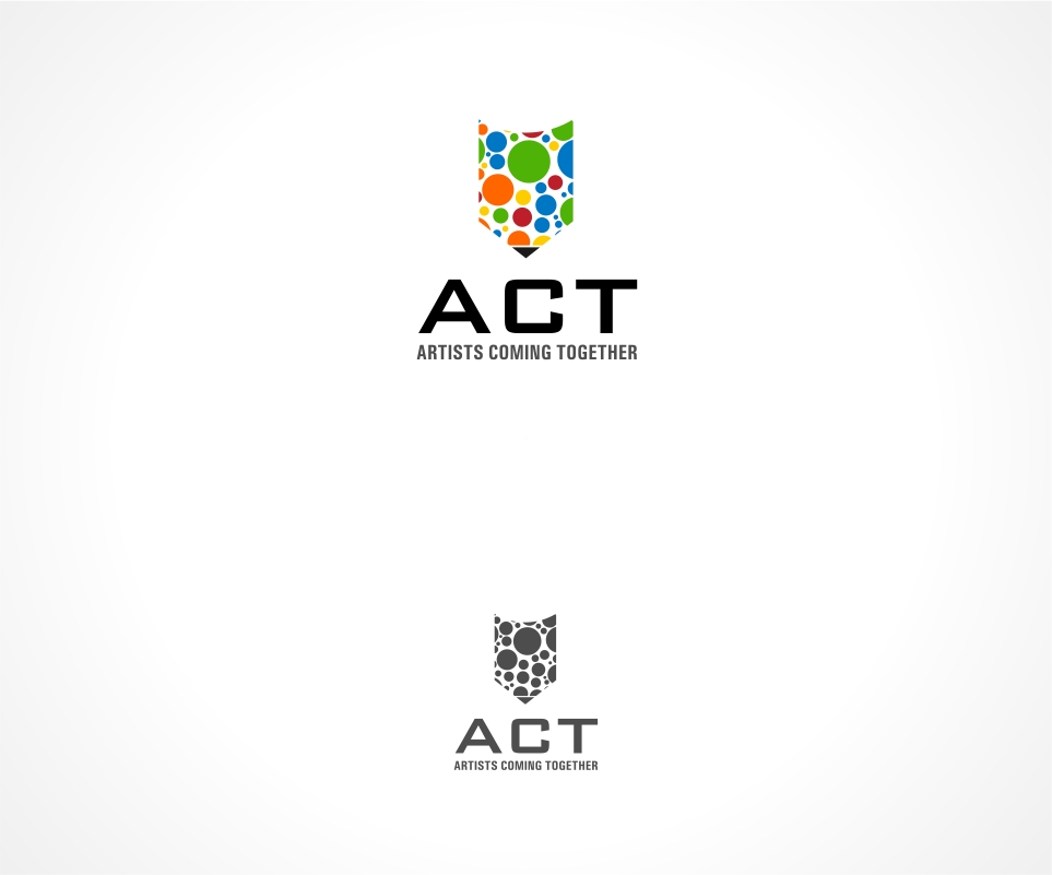 Logo Design by haidu - Entry No. 84 in the Logo Design Contest Creative Logo Design for A.C.T. Artists Coming Together.