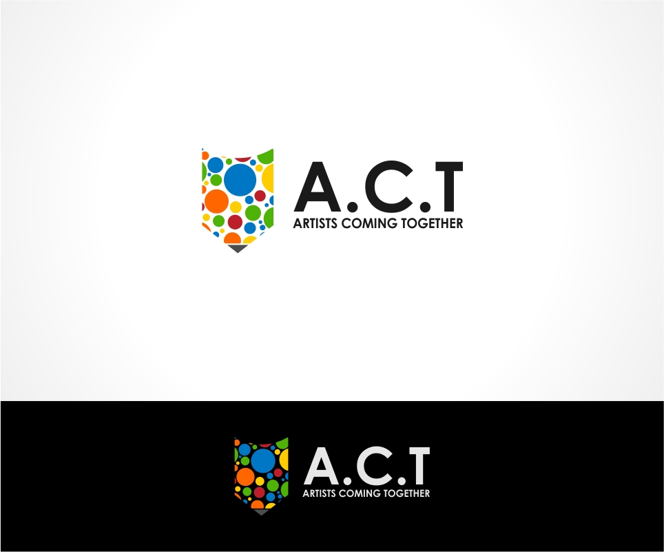Logo Design by haidu - Entry No. 86 in the Logo Design Contest Creative Logo Design for A.C.T. Artists Coming Together.