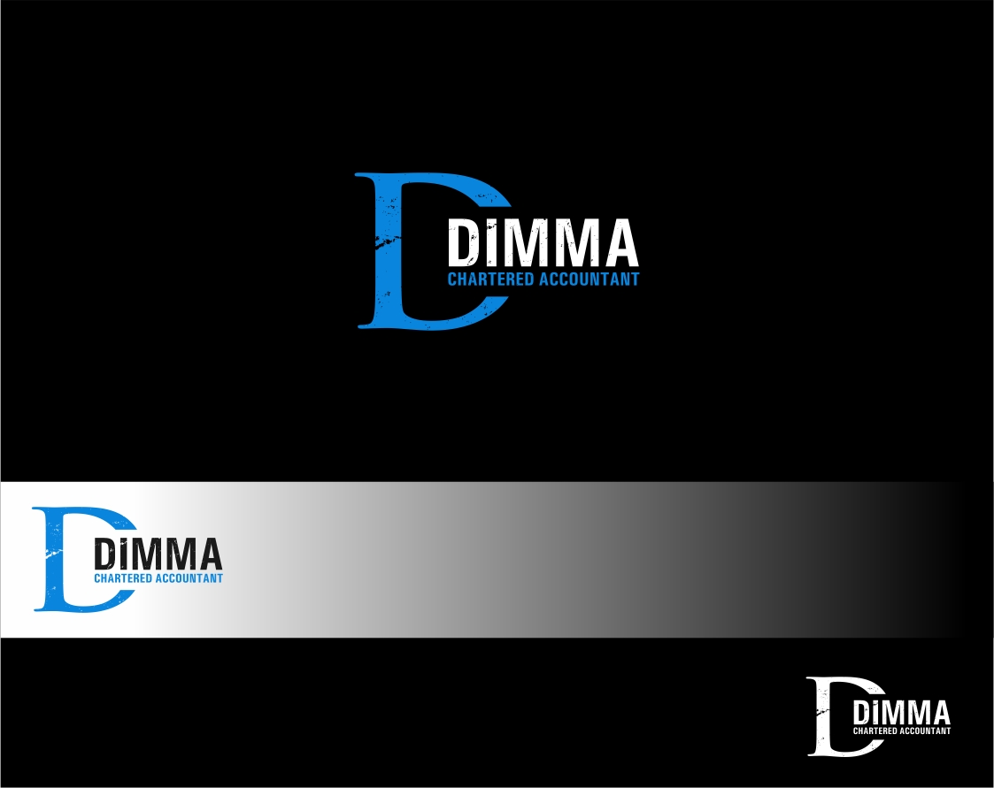Logo Design by haidu - Entry No. 61 in the Logo Design Contest Creative Logo Design for Dimma Chartered Accountant.