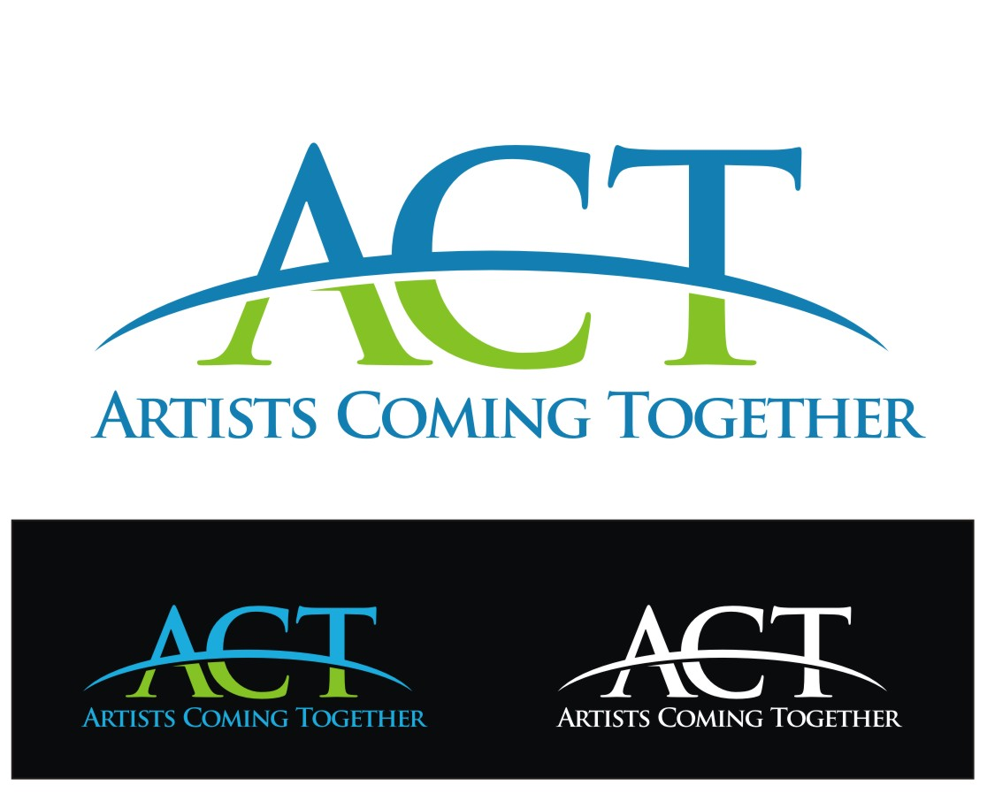 Logo Design by Reivan Ferdinan - Entry No. 87 in the Logo Design Contest Creative Logo Design for A.C.T. Artists Coming Together.