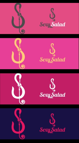 Logo Design by Private User - Entry No. 50 in the Logo Design Contest Artistic Logo Design for Sexy Salad Inc..