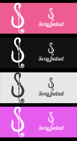 Logo Design by Private User - Entry No. 51 in the Logo Design Contest Artistic Logo Design for Sexy Salad Inc..