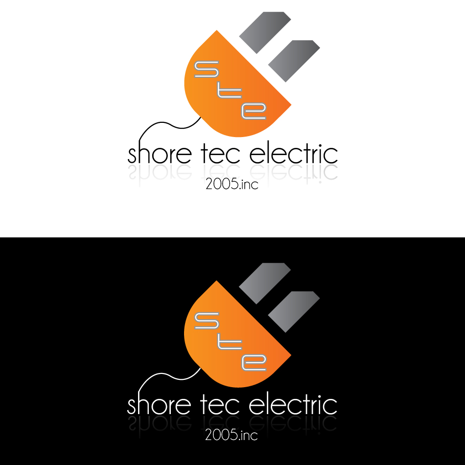 Logo Design by dada45 - Entry No. 45 in the Logo Design Contest Shore Tec Electric 2005 Inc.