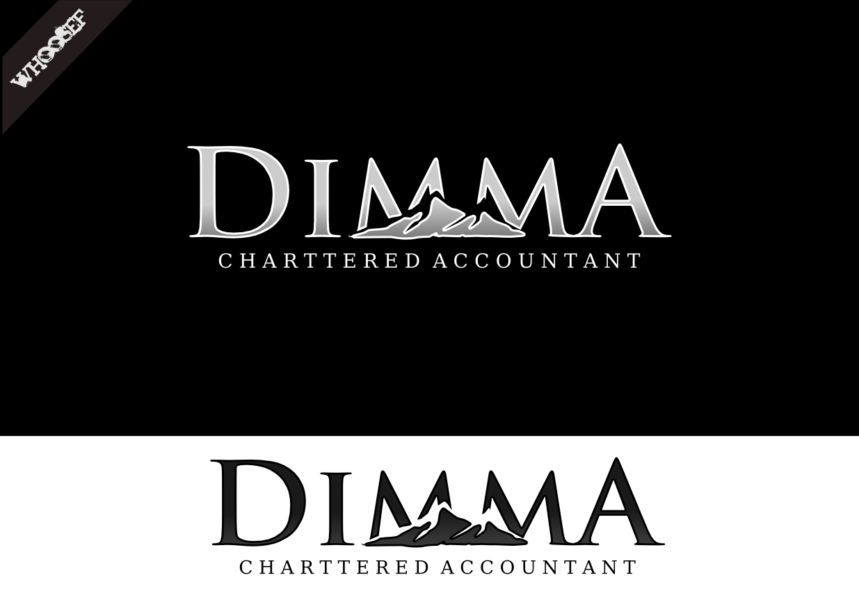 Logo Design by whoosef - Entry No. 65 in the Logo Design Contest Creative Logo Design for Dimma Chartered Accountant.