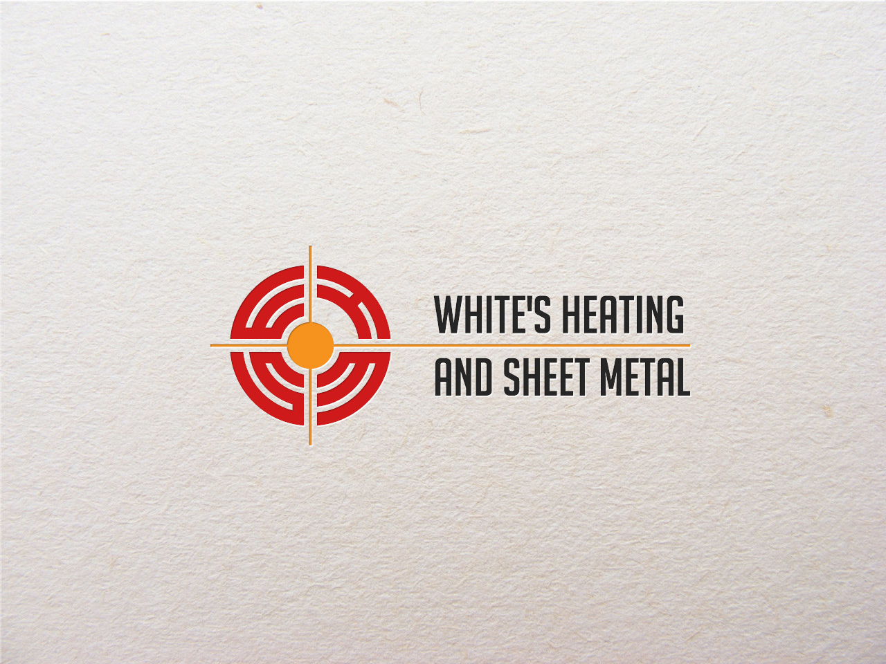 Logo Design by jpbituin - Entry No. 119 in the Logo Design Contest Imaginative Logo Design for White's Heating and Sheet Metal.