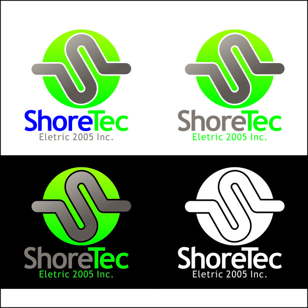 Logo Design by Ernani-Bernardo - Entry No. 47 in the Logo Design Contest Shore Tec Electric 2005 Inc.