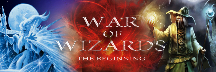 Banner Ad Design by kowreck - Entry No. 81 in the Banner Ad Design Contest Banner Ad Design - War of Wizards (fantasy game).