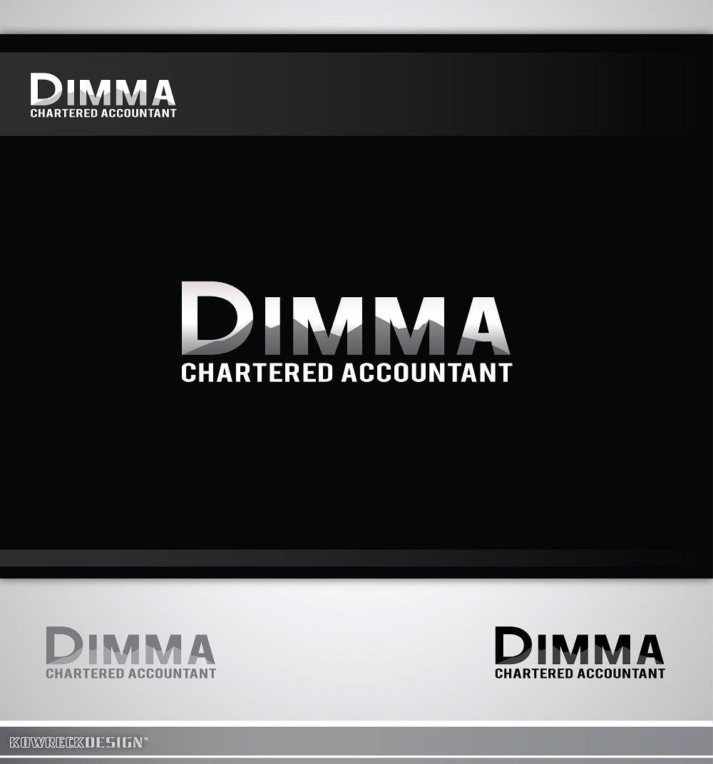 Logo Design by kowreck - Entry No. 67 in the Logo Design Contest Creative Logo Design for Dimma Chartered Accountant.